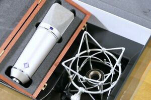 Neumann U87Ai Studio Set (Nickel finish) with shock mount - MINT / BOXED