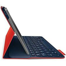 Logitech Canvas Red Air Bluetooth Keyboard Case Folio for iPad Air 1