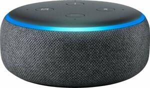 Amazon Echo Dot 3rd Gen Smart Speaker with Alexa Gray/White/Charcoal/Plum New