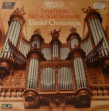 "DANIEL CHORZEMPA - WIDOR  12"" 2 LP (P80)"