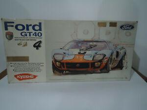 Kyosho Nostalgic Series Ford GT40 1:10 Kit with motor Pureten