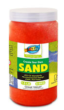 Artoys Colour Art Sand -Red 600g Great for School & Home & Party Craft Sand Art