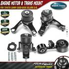 4x Engine Motor Transmission Mount For Toyota Camry 2002-2006 2.4l Auto Trans.