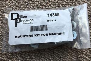 Dillon Precision 14355 Machine Mounting Kit