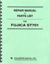 Fujica ST701 Repair Manual & Parts List Reprint