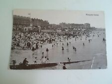 MARGATE SANDS - Vintage Animated Postcard Franked+Stamped 1925  §D882