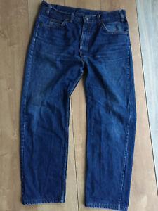 Original Vintage 80's Jeans Levi's 505 W38 L29(31) 48 Fr Bleu Stone