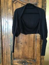 Guess Black Shrug Wool/acrylic Size 1