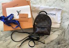 Louis Vuitton Original Palm Springs Mini Rucksack Monogram Canvas Neu m Rechnung
