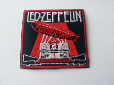 HEAVY METAL PUNK ROCK MUSIC SEW / IRON ON PATCH:- LED ZEPPELIN (a) PATCH No 0031
