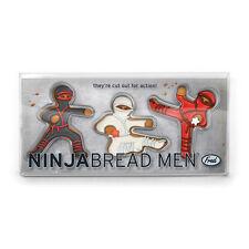 NinjaBread Men - Fred & Friends Gingerbread Cookie Cutters