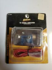 TV ANTENNA Signal Booster Amplifier for semi automotive DC power Audio Video