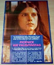 Peter Weir PICNIC AT HANGING ROCK vintage 1 sheet movie poster 1977