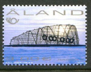Aland Island Stamp Scott #205 Radar II Sculpture 2002 MLH