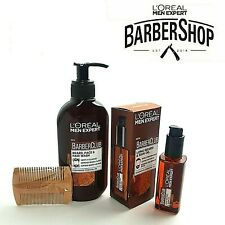 L'Oreal Barber Club Men Expert Ultimate Beard Care Combination Collection + Comb