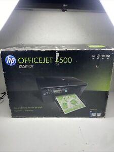 Brand New HP OfficeJet 4500 All-In-One Inkjet Printer Very Nice