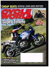 Cycle World December 2010 Aprilia Dorsoduro 1200 Moto Guzzi V7 Racer Gsxr600/750