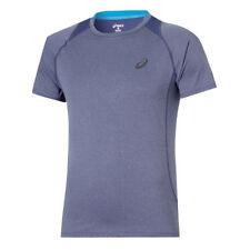 8b92cf178b Asics Mens Motion Dry Running Fitness Sports T-Shirt Top 129916 8134 EE112
