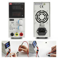 DC Power Supply Variable, Dual digital LCD display (0-30V/0-5A) Switching Test