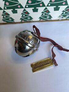Polar Express Santas Sleigh Bell 2020 Christmas Hallmark Keepsake Ornament NIB