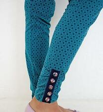 Matilda Jane Girls Birdie Leggings 10 Blue Friends Forever 435 New kg1