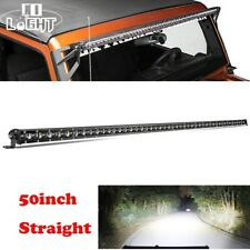 50 Inch Slim LED Light Bar Flood/Spot Combo fit for Jeep Wrangler JL YJ TJ JK
