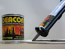 Deacon 8875-THIN (10.3 oz. Tube) High Temperature Sealant, 150°F to 1800°F