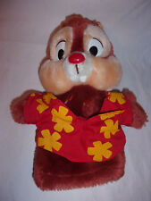 """Disney Applause Hand Puppet Chip & Dale Vintage Dale Hand Puppet 11"""""""