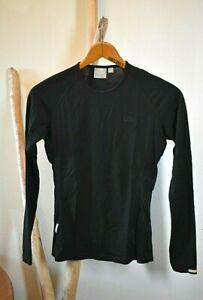 ICEBREAKER Pure Merino BodyFit 200 LS Tech T-Shirt Women's Slim Fit Medium Mint