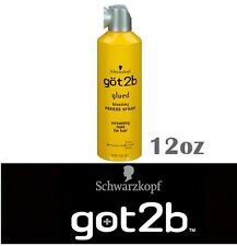 GOT2B GLUED BLASTING FREEZE SPRAY SCREAMING HOLD FOR HAIR 12OZ HCG2BSPRAY
