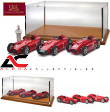 CMC M-202 1:18 LUCKY SET 3 FERRARI D50 FANGIO DISPLAY CASE LE 200