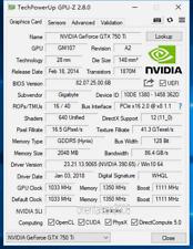 GIGABYTE GeForce GTX 750 Ti 2048 MB GDDR5 WindForce Graphics Card