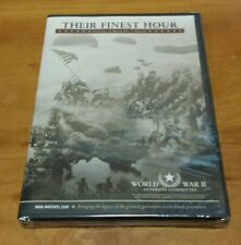 Their Finest Hour: Profiles of World War II Heroes DVD wwii stories vetrans NEW
