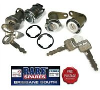 IGNITION BARREL 2 DOOR & BOOT LOCK WITH KEYS SUIT FORD XC XD XE XF FALCON