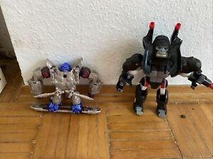 Beast Wars Transformers Optimus Gorilla 2 Stück Top Zustand Hasbro Original 1996