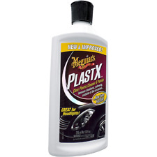 Meguiar's PlastX Clear Plastic Cleaner & Polish, G12310, 10 oz., Liquid