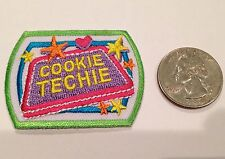 Girl Scout Cookie Techie Patch