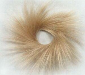 """Spiky Hair Ponytail Holder Scrunchie Hairpiece 3.5""""Hair Twirl piece Dance Hairdo"""