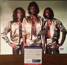 Barry Gibb SIGNED 8x10 BEE GEES color photo w/ PSA COA & hologram- AUTHENTICATED