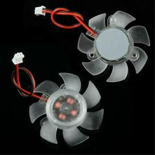 2PIN 45MM REPLACEMENT FAN FOR PC COMPUTER VGA VIDEO CARD COOLING HEATSINK COOLER