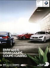 2017 MY BMW 6 Coupe Cabrio 2016 catalogue brochure