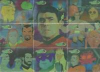 Star Trek The Complete Animated Adventures James Doohan Tribute Chase Card Set