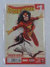 SPIDERWOMAN #1 MARVEL COMICS SPIDER-VERSE JANUARY 2015 NM (9.4)