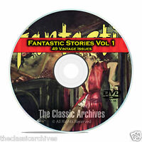Fantastic Science Fiction, Vol 1, 49 Vintage Pulp Magazine, Golden Age DVD C49