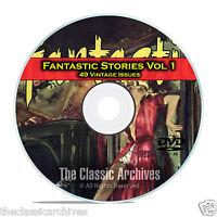 Fantastic Science Fiction, Vol 1, 49 Vintage Pulp Magazine, Golden Age DVD C49
