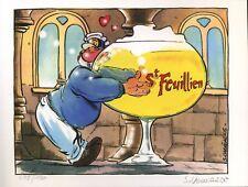 Ex-libris Offset Léo Loden Tonton et la bière