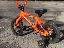 Tony Hawk Otter Bicycle Orange With Training Wheels