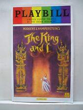THE KING AND I Playbill KELLI O'HARA / KEN WANTANABE / RUTHIE ANN MILES NYC 2015