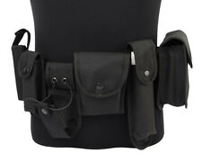 Tactical Duty Security Guard Police Hunting Utility 6 Pouches Holster Load Belt