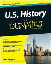 US History for Dummies, 3rd Edition by Steve Wiegand Paperback Book (English)